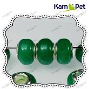 Pandora korálek vinuté sklo vinutka PUNC 925 zelená