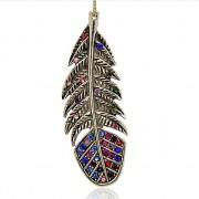 KELTSKÝ PÍRKO s kamínky LUXUSNÍ Přívěšek vintage náhrdelník s přívěškem dárek pro ženu