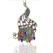 Keltský PÁV s kamínky LUXUSNÍ Přívěšek vintage náhrdelník s přívěškem dárek pro ženu