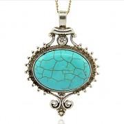 TYRKENIT OKO LUXUSNÍ Přívěšek keltský vintage náhrdelník s přívěškem howlit dárek pro ženu
