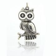 Keltská sova přívěšek vintage náhrdelník s přívěškem dárek pro ženu