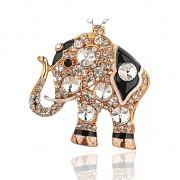 SLON s kamínky LUXUSNÍ Přívěšek vintage náhrdelník s přívěškem dárek pro ženu