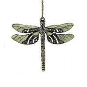 VÁŽKA s kamínky LUXUSNÍ Přívěšek keltský vintage náhrdelník s přívěškem dárek pro ženu
