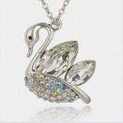 LABUŤ s kamínky keltský přívěšek vintage náhrdelník s přívěškem dárek pro ženu