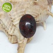 Brekciový jaspis kabošon přírodní minerální kámen