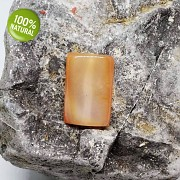 Achát kámen na náhrdelník šperkový přírodní minerál