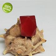 Červený Jadeit přívěšek/korálek na náhrdelník minerální kámen