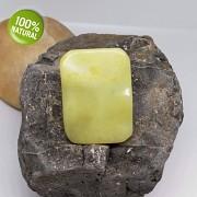 ŽLUTÝ Jadeit přívěšek/korálek na náhrdelník minerální kámen