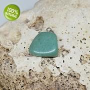 Zelený Jadeit přívěšek/korálek na náhrdelník minerální kámen