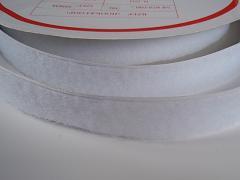Suchý zip šíře 20mm bílý KOMPLET