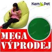 VÝPRODEJ zelený sedací vak sleva 55% KamPet Sprite 110 RINS