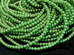 Voskované perly 10mm ZELENÁ LIMETKA