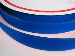 Suchý zip šíře 20mm modrý jasně KOMPLET