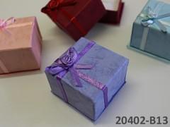 Dárková krabička 40/40/30 SV.FIALOVÁ
