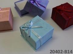 Dárková krabička 40/40/30 SV.TYRKYSOVÁ
