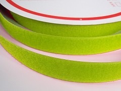 Suchý zip šíře 20mm limetkově zelený KOMPLET