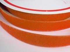 Suchý zip šíře 20mm oranžový KOMPLET