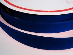 Suchý zip šíře 25mm tm. modrý KOMPLET