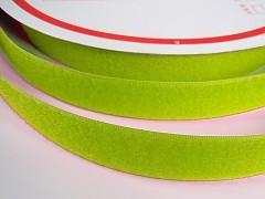 Suchý zip šíře 25mm zelená limetka KOMPLET