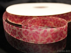 Stuha organzová 20mm GEPARD růžový, svazek 3m
