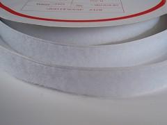 Suchý zip šíře 50mm bílý KOMPLET