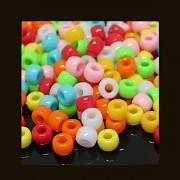 Pestrobarevný MIX korálky 9/6  bal. 8g = cca 30ks