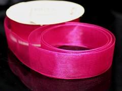 Růžová cyklám stuha organzová 20mm organza stužka šifónová magenta, svazek 3m