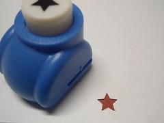 Raznice děrovačka 10mm HVĚZDIČKA, á 1ks