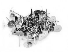 Platinové náušnice puzety 11/6 náušnicový bižuterní komponent