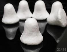 Polystyrénový zvoneček 5cm výlisek z polystyrénu zvonek 50mm, á 1ks