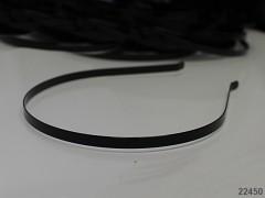 ČERNÁ čelenka do vlasů 6mm, á 1ks