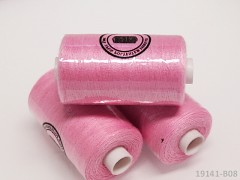 Růžové nitě PES 1000y HARD růžová niť cívka