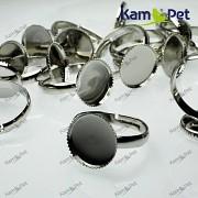 Základ pro prsten ozubené lůžko 12mm platina