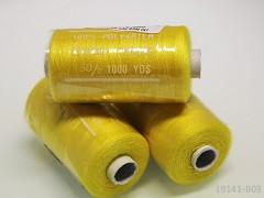 Citrón žluté nitě PES 1000y HARD žluté niť cívka