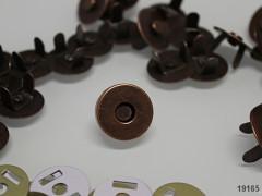 Magnetické zapínání MĚĎ 18mm, á 1ks