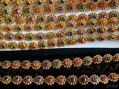 Borta / barevné kamínky ZLATÁ, á 10cm