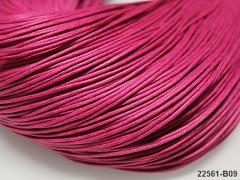 RŮŽOVÁ CYKLÁM  voskovaná šňůrka 1,5mm bižuterní návlekový materiál, svazek 5m