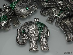 Exklusivní přívěsek keltský obří slon s kamínky
