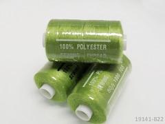 Lmietkově zelené nitě PES 1000y HARD limetková niť cívka