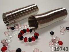Paměťový drát 20mm prstýnkový PLATINA