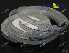 STŘÍBRNÁ stuha lurexová 10mm stuha