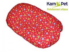 Polohovací elipsa č. 2 KamPet Classic 100% bavlna