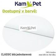 Polohovací lehátko č. 1 KamPet Classic bílý