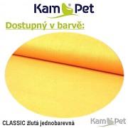 Polohovací lehátko č. 1 KamPet Classic žlutý