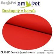 Polohovací lehátko č. 2 KamPet Classic červený