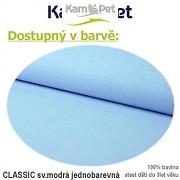 Polohovací lehátko č. 2 KamPet Classic sv.modrý