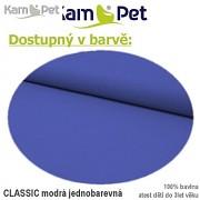 Polohovací lehátko č. 2 KamPet Classic nivea modrý