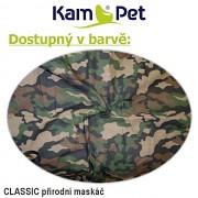 Sedací vak KamPet Sprite 110 Classic puntík army přírodní