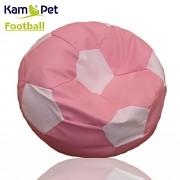 Sedací vak KamPet Football 60 COMFORT růžovobílý