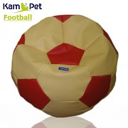 Sedací vak KamPet Football 60 COMFORT žlutočervený